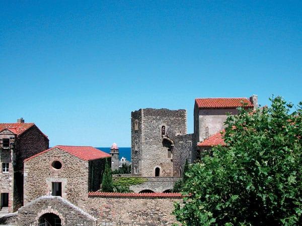 Die ehemalige Königsresidenz in Collioure