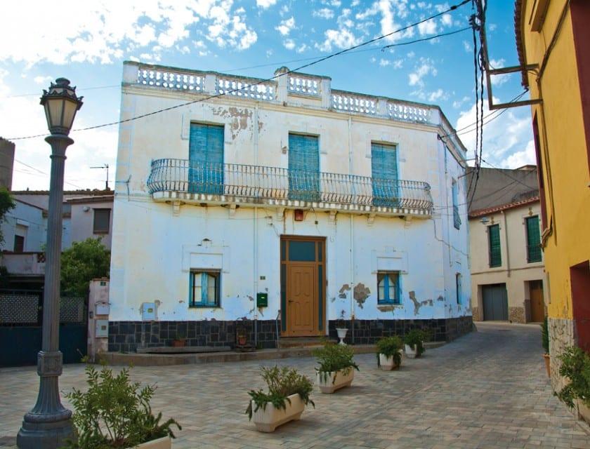In Garriguella gibt es einige architektonische Wunderwerke.