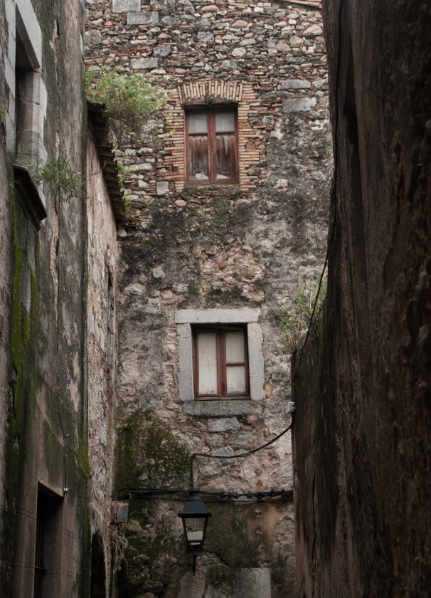Girona-Hausfassade