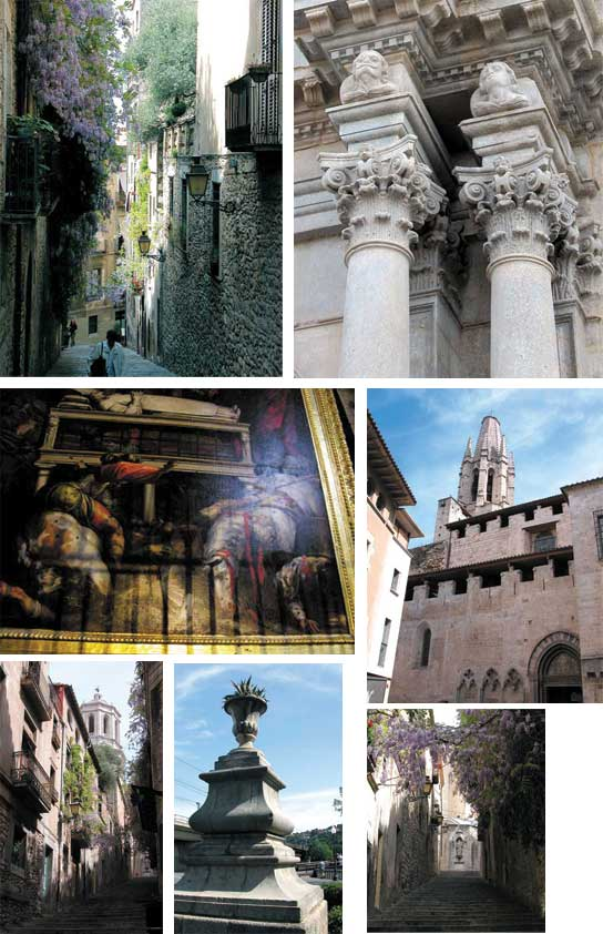 Ein Spaziergang durch Girona