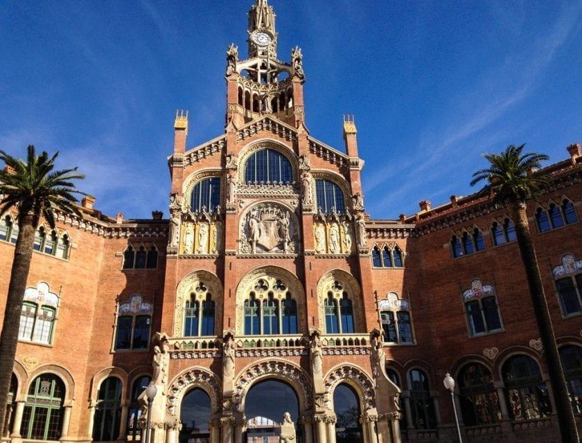 Das Hospital de la Santa Creu.