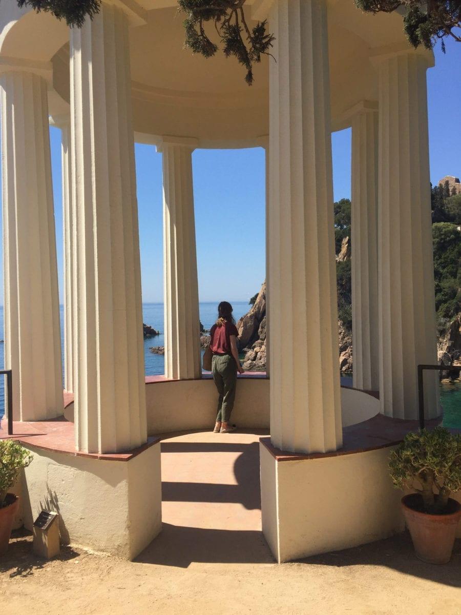Pavillon im griechischen Stil