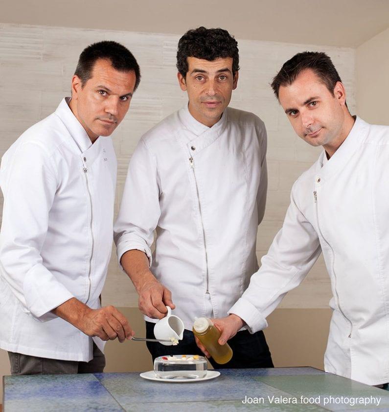 Die drei Küchenchefs.