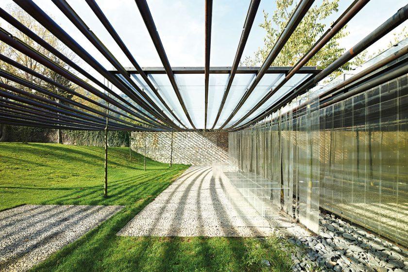 Symbiose zwischen Natur und Architektur.