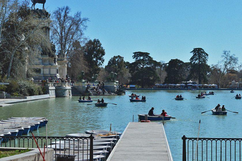 Madrid Retiro Park