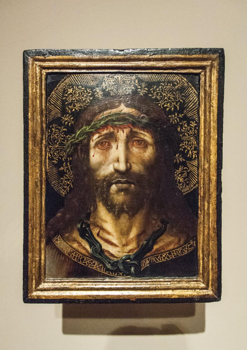 Bildnis Christi im Museum in Vic.
