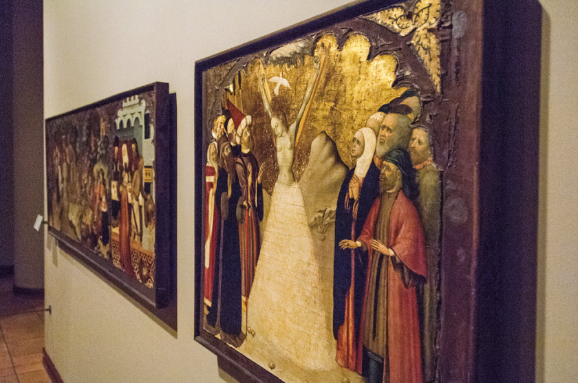 Das Museum in Vic ist berühmt für seine kostbaren Schätze.