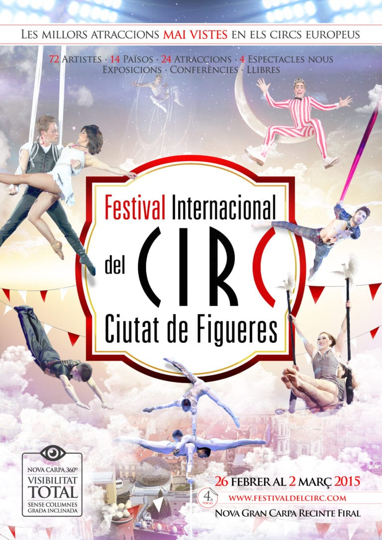 Manege frei! Internationales Zirkusfestival Figueres 2015
