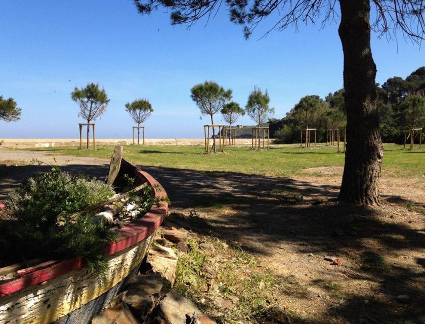 Blick auf eine der Buchten bei Port Vendres.