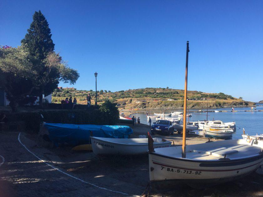 Fischerboote in Portlligat
