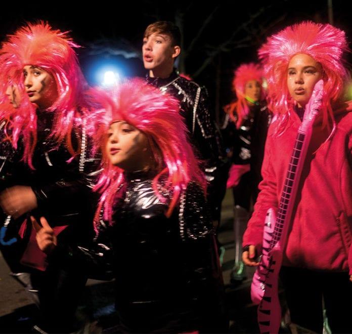 Alle feiern den Karneval - meist bis in die Morgenstunden.