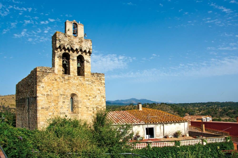 Die wunderschöne Kirche von Rabós.