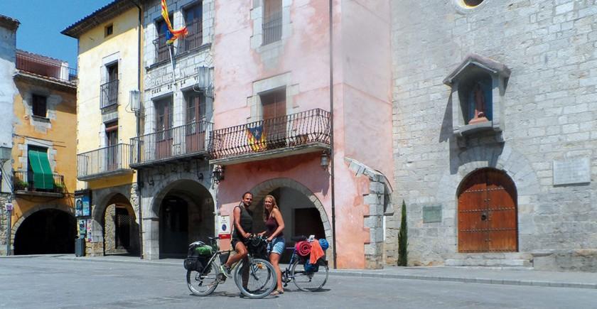 Radtour Torroella de Montgrí.
