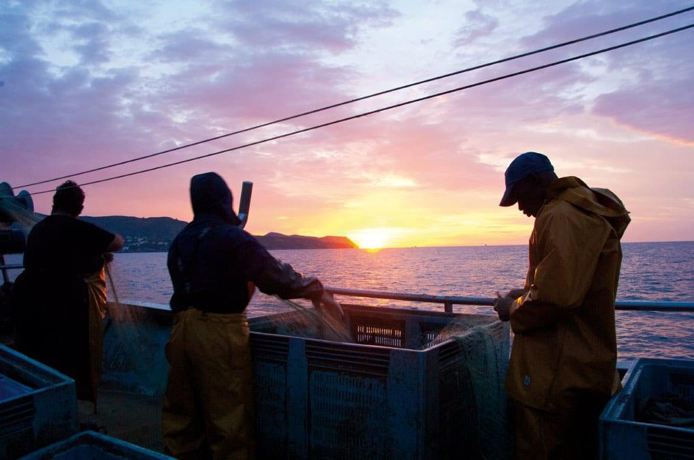Die Arbeit auf dem Meer ist kein Zuckerschlecken.