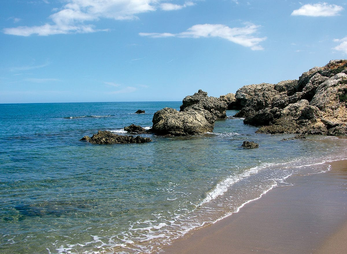 Felsige Küste von L'Escala