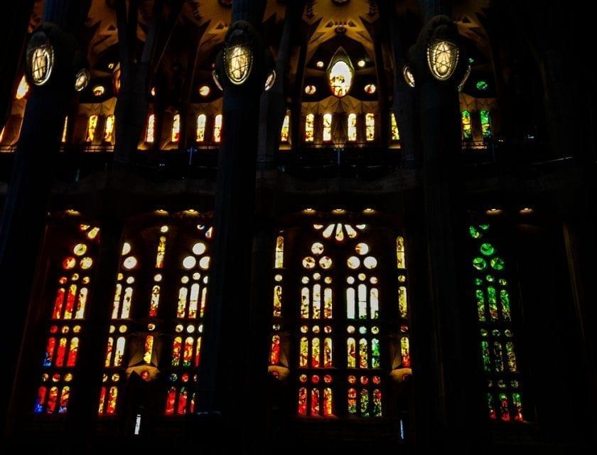 Innenschiff der Sagrada Família,