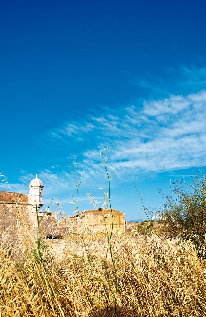 Verteidigungsturm des Castell de Sant Ferran
