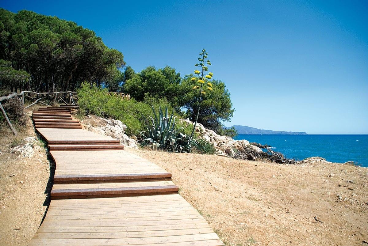 Strand Portitxol zwischen Sant Martí d'Empúries und L'Escala