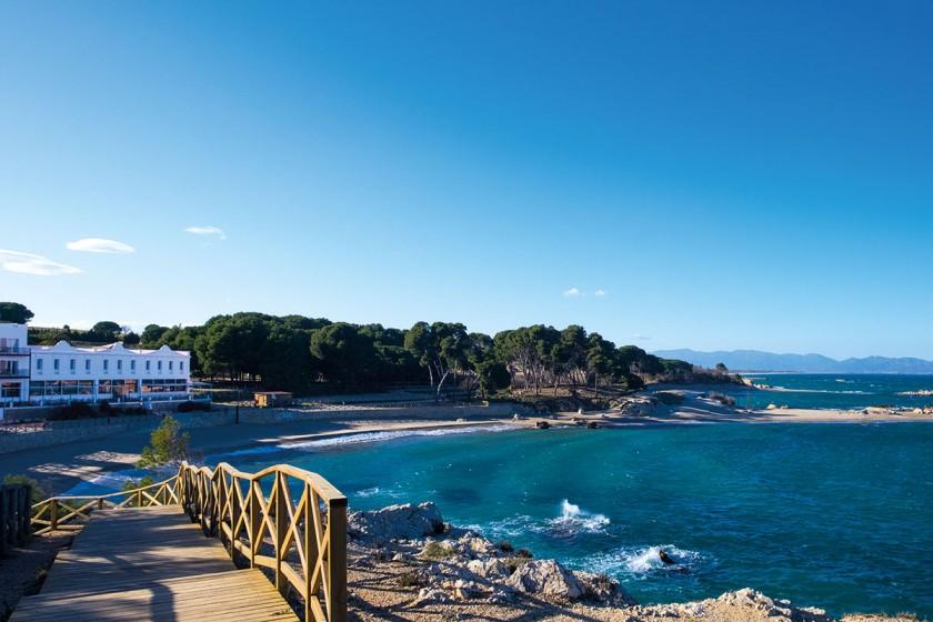 Hostal bei L'Escala - eines der schönsten Hotels an der Costa Brava
