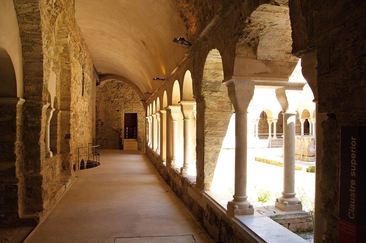 Sant Pere Rodes Kreuzgang