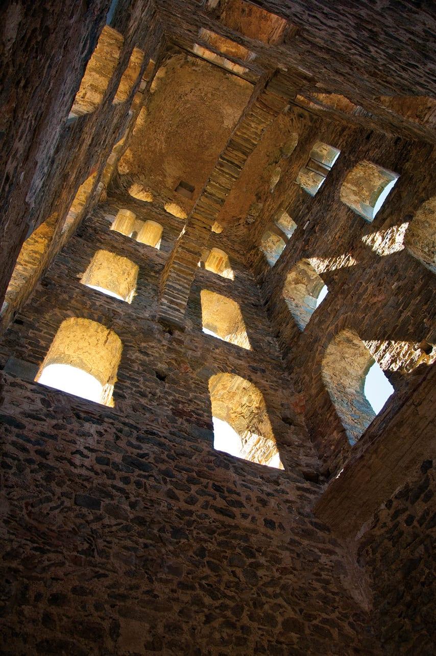 Sant pere de Rodes Glockenturm Innen