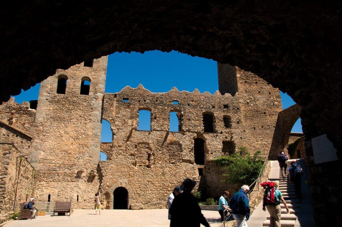 Sant Pere de Rodes Innenhof
