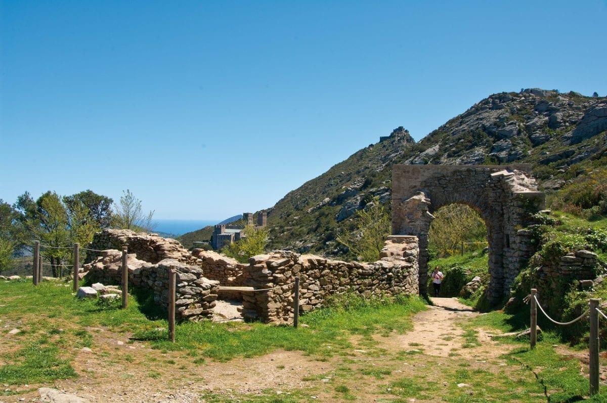 Sant Pere Rodes Ruine