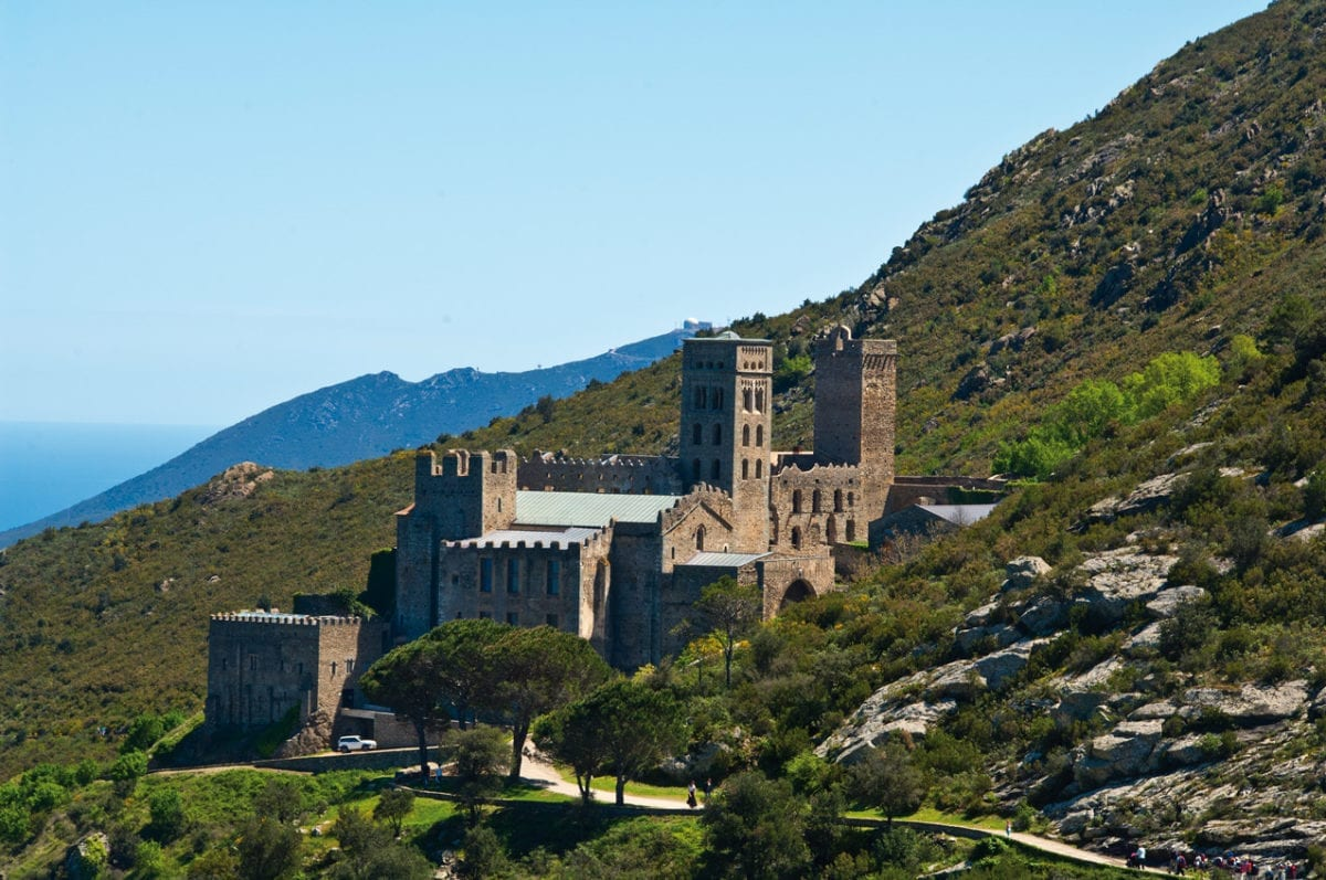 Sant Pere de Rodes Seitenansicht