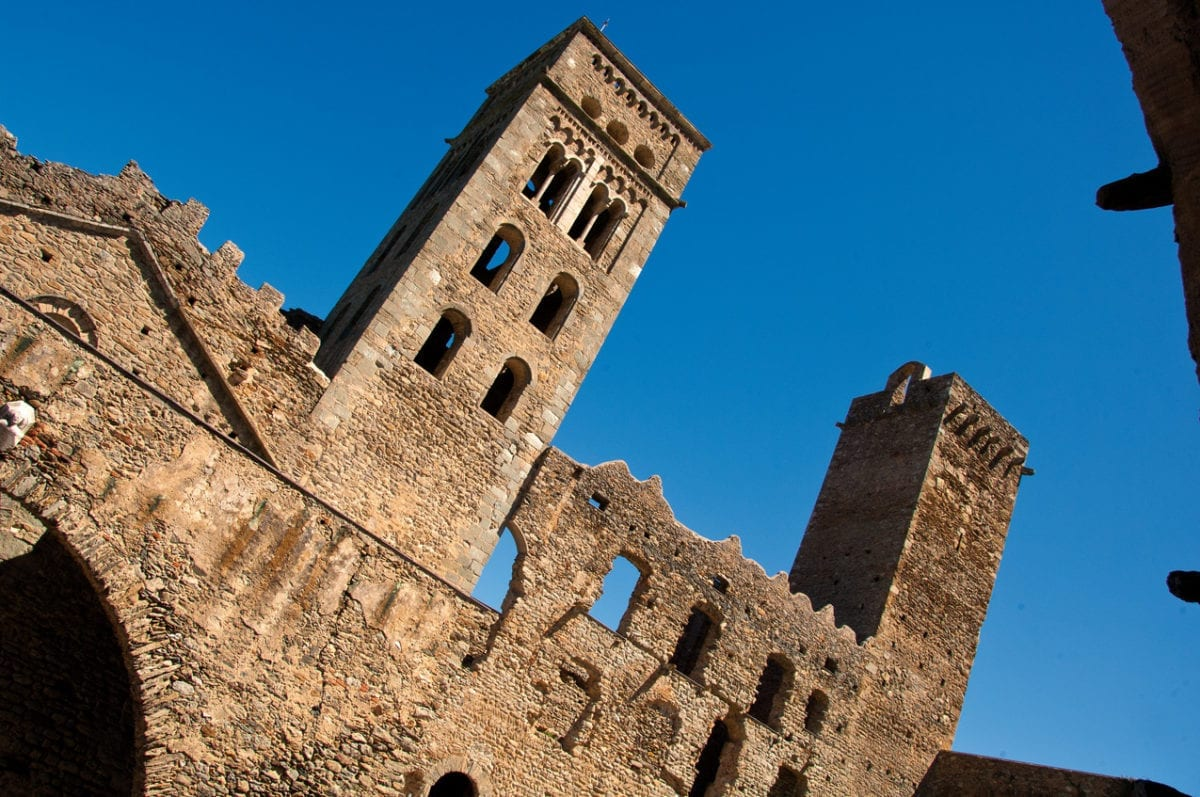 Sant Pere de Rodes Türme
