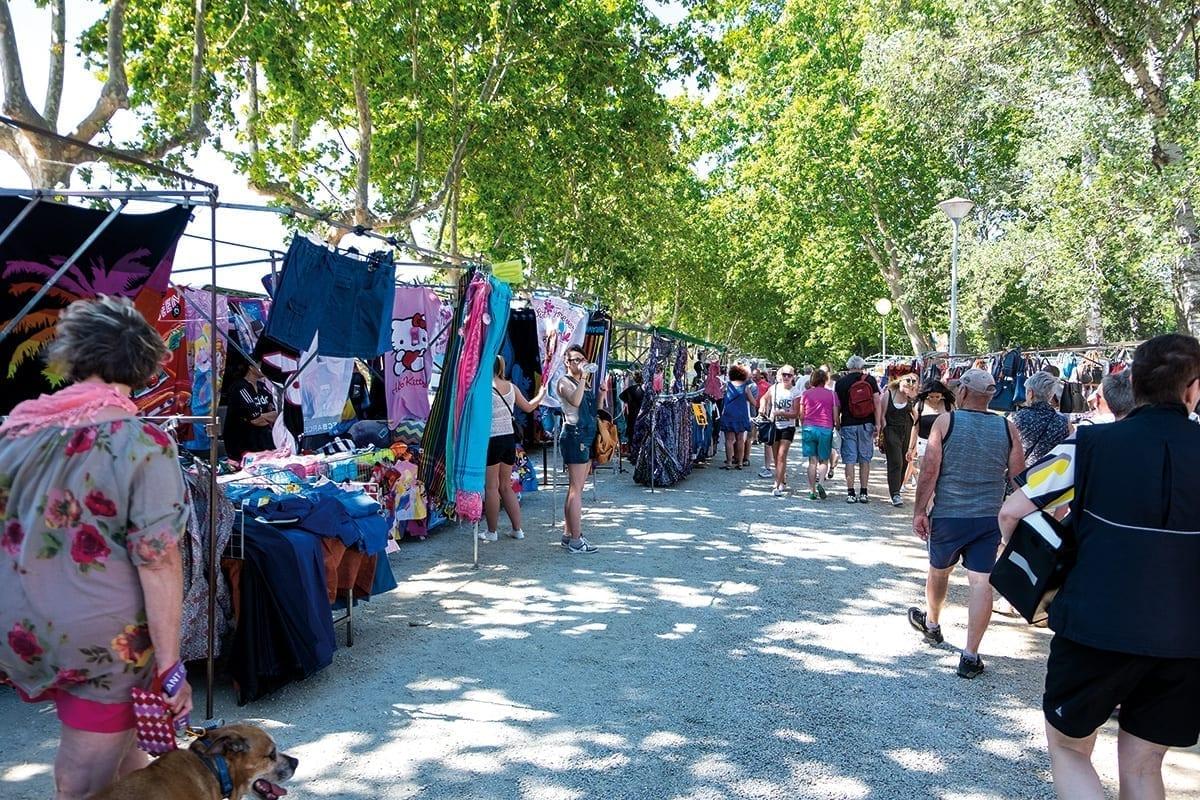 Wochenmarkt in Sant Pere Pescador