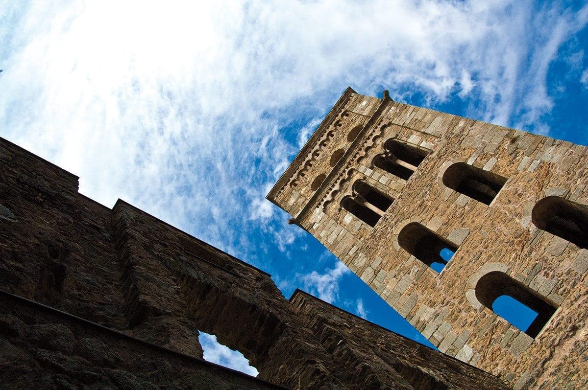 Glockenturm Sant Pere de Rodas Kloster