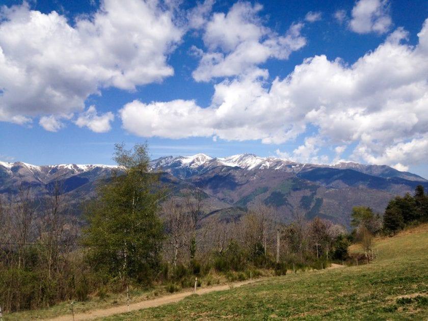 Der Abschied von den Bergen fällt schwer.