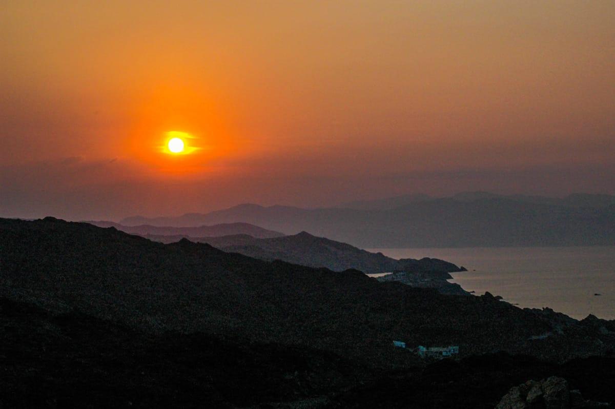Sonnenuntergang am Cap de Creus