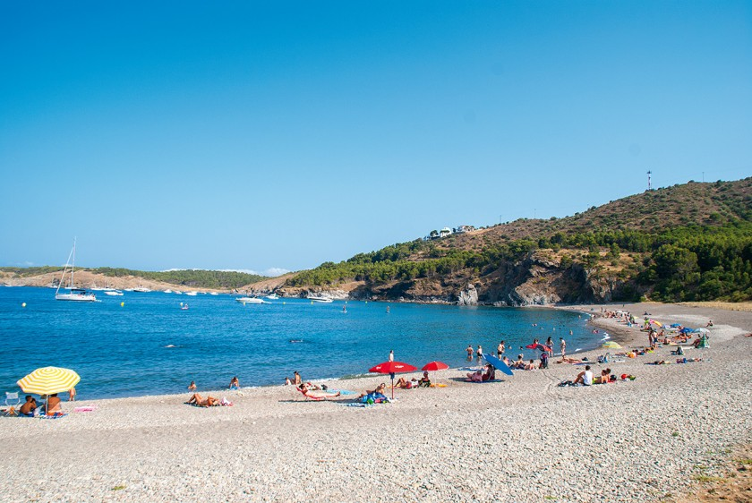Strand Garbet zwischen Colera und Llança