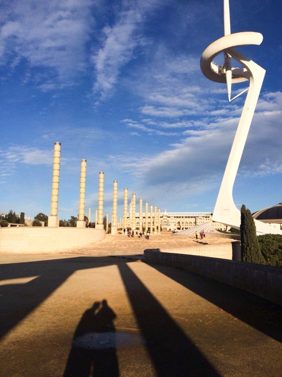 Ruhe auf dem ehemaligen Olympiagelände.