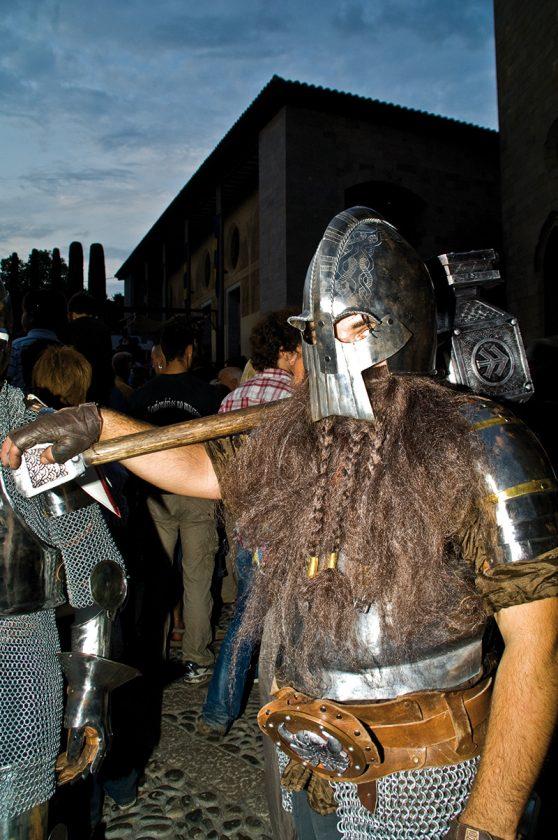 Ritterspiele beim Trobador Fest in Castello