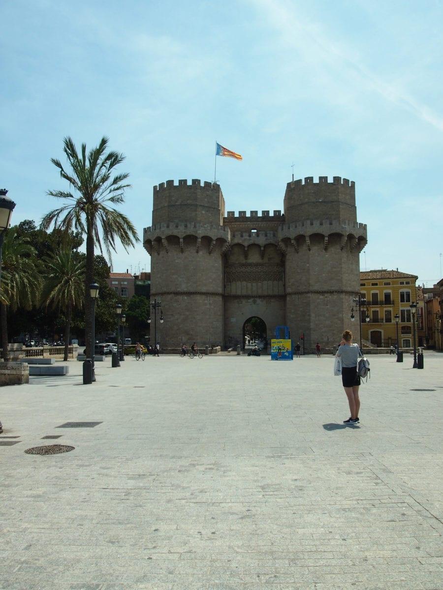 Altes Stadttor von Valencia
