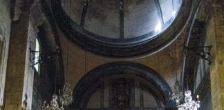 Der Altar der Kathedrale in Vic.
