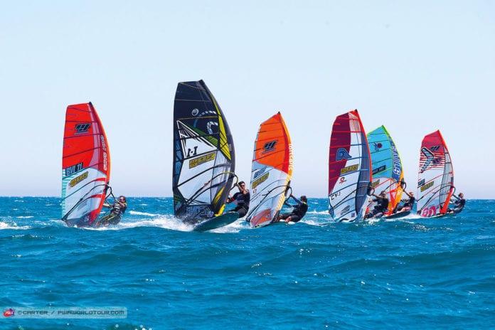 Windsurf Rennen
