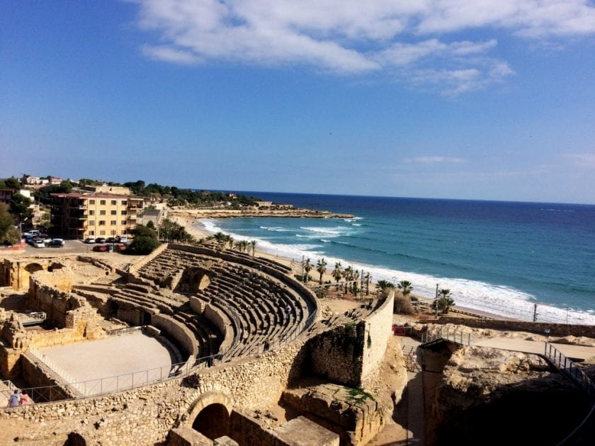 geschichte tarragona amphitheater