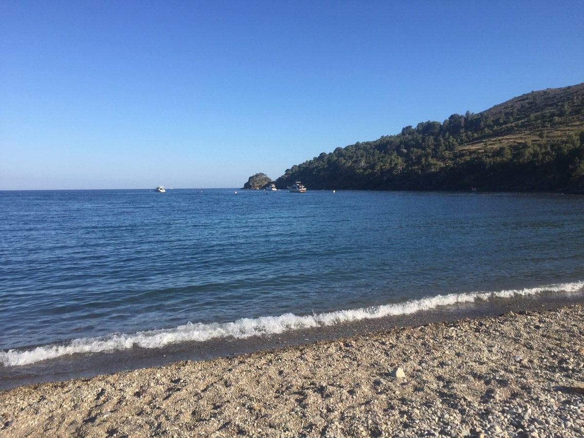 Bucht Montjoi Wanderung