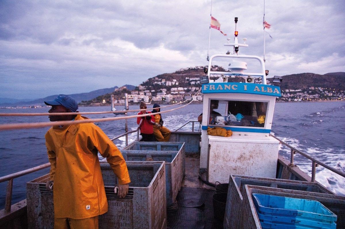 Costa Brava Fischer auslaufen