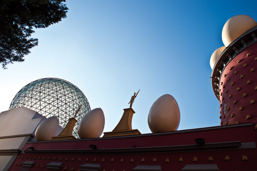Dalí liess sich von der Landschaft inspirieren.