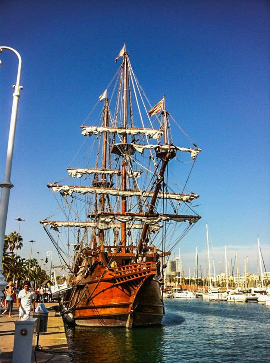 Port Vell von Barcelona