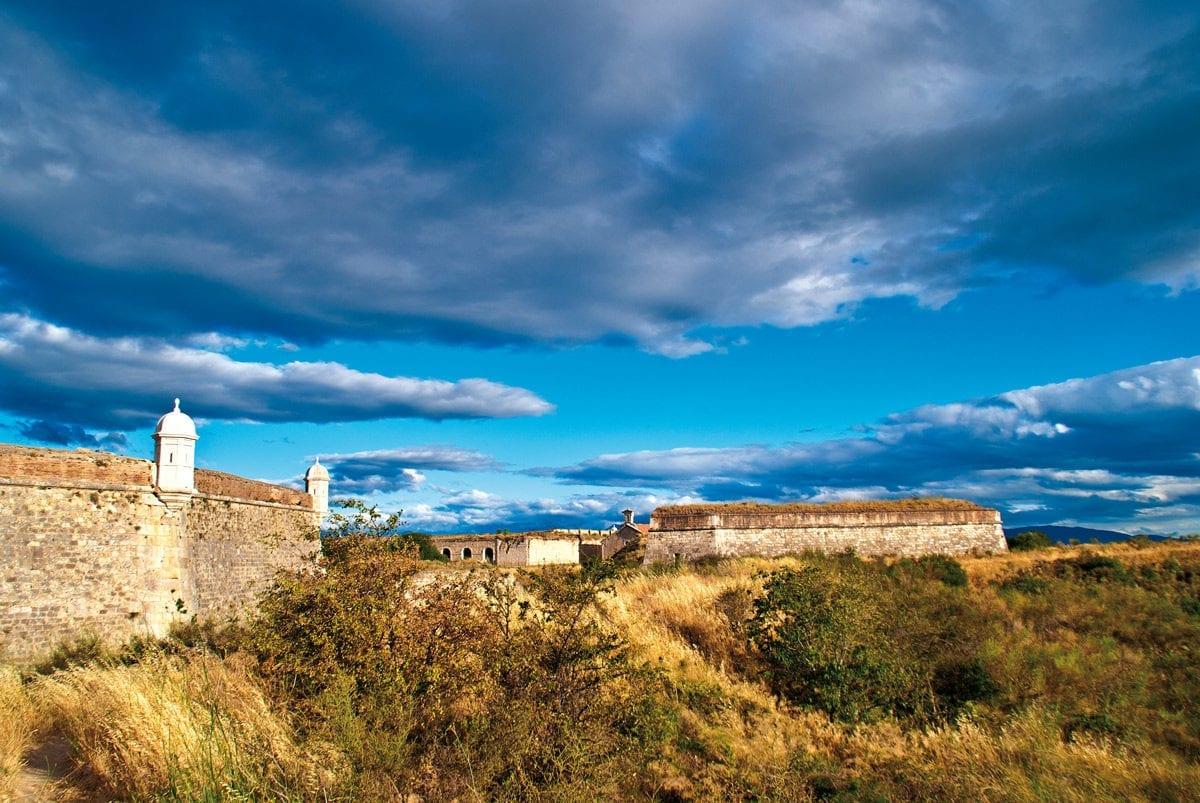 Festung grösste Europas Sant Ferran