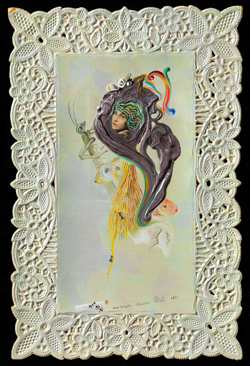 Galas Portrait im Dalí Museum in Figueres.