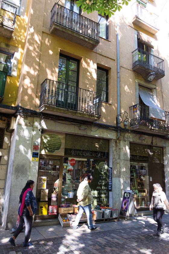 Kleiner Laden in Girona