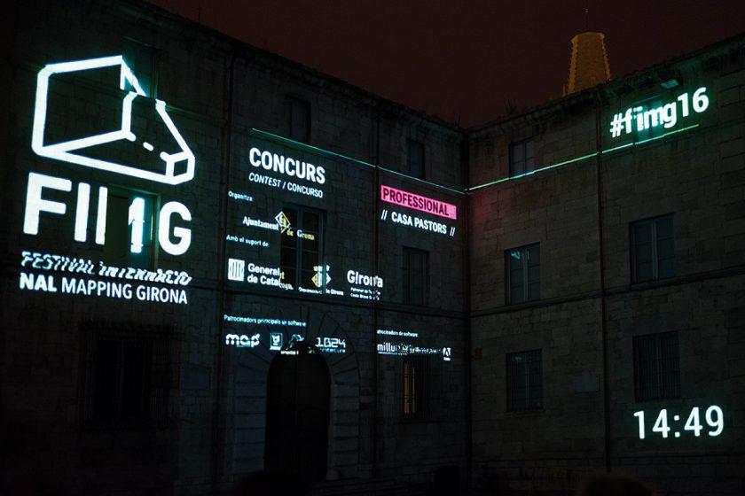 Videokunst auf historischen Fassaden