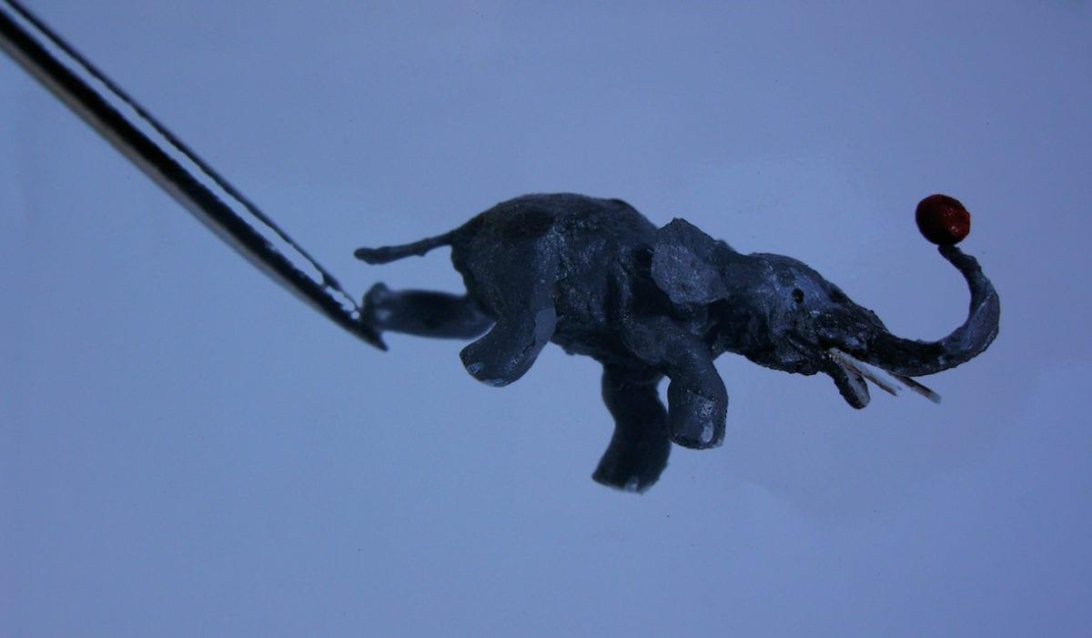 Miniaturmuseum Besalu Elefant