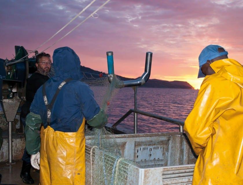Netz einholen Bucht von Roses - Costa Brava